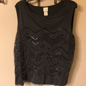 Beautiful sleeveless top Covington Women 20-22